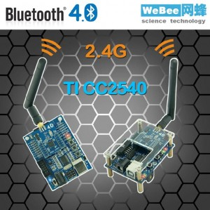 Bluetooth 4.0 development/evaluation kit CC2540 WeBee