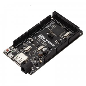 MEGA ADK 2560 R3, Enhanced version, Swith for I/O - 5V/3.3V, USB CH340G, USB host MAX3421E, Power 1.5A.