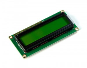 LCD1602 2*16  (5V Yellow Backlight)
