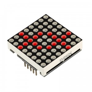 Moduł matrycy LED RED 8x8 z MAX7219 Matrix RobotDyn