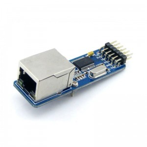 ENC28J60  ethernet  RJ45 connector, SPI interface