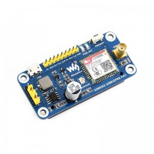 SIM800C GSM/GPRS/Bluetooth HAT for Raspberry Pi
