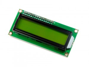 LCD1602 I2C 2*16 (5V Yellow Backlight)