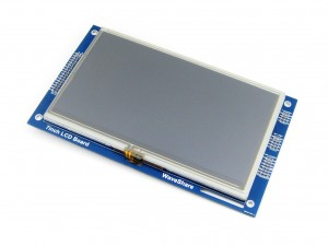 "LCD 7 ""  800*480 Multicolor Graphic Resistive Touch"