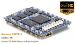 CPU Board - Tiny210 256MB NAND