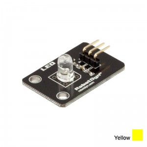Moduł z diodą LED 5mm Yellow RobotDyn