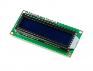 LCD1602 I2C 2*16 (5V Blue Backlight)