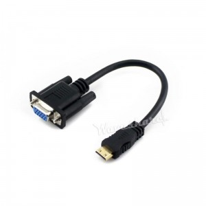 Adapter VGA  - mini HDMI