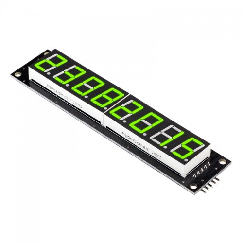 8 Digit LED Display Tube 7 segments 74HC595 GREEN Color