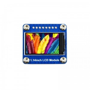 240×135, General 1.14inch LCD Display Module, IPS, 65K RGB