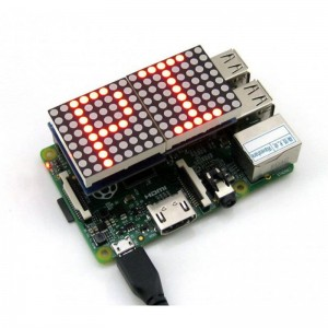 Matryca LED 8x16 dla Raspberry Pi RPI LED Matrix max7219