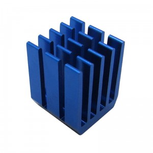 Radiator 9*9*12mm Blue