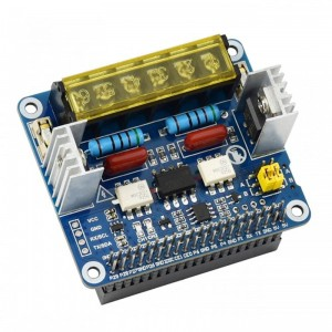 2-CH Triac HAT for Raspberry Pi, Integrated MCU, UART / I2C