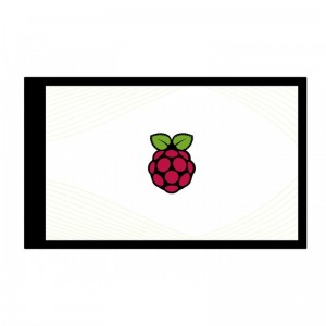 4inch Capacitive Touch Screen LCD for Raspberry Pi, 480×800, DPI, IPS, Toughened Glass Cover, Low Power