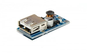 MINI przetwornica USB DC/DC STEP-UP 5V 500mA