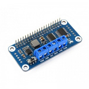 Motor Driver TB6612FNG HAT for Raspberry Pi, I2C Interface