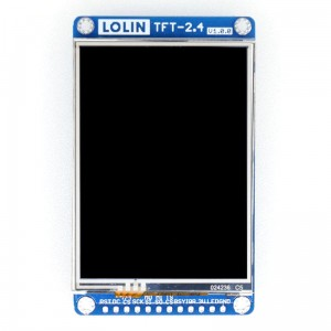 "Wemos 2.4"" inch 320×240 TFT LCD Touch Screen shield."