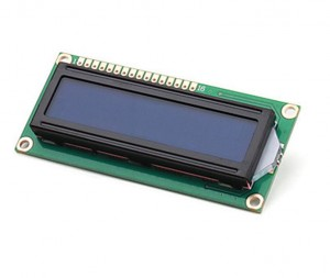 LCD1602 2*16 (5V Blue Backlight)
