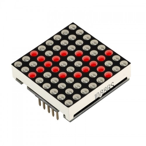 Matrix LED 8x8 module RED color 32x32mm Driver MAX7219