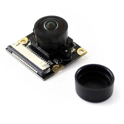 Camera HD typ M - OV5647 - soczewka szerokokątna (Fisheye Lens) - kamera  dla Raspberry Pi