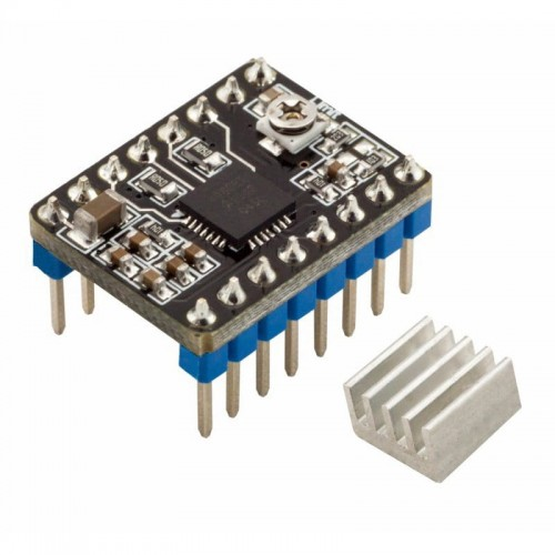 Stepper motor Driver A4988 for 3D printers with heating sink